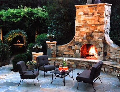 Five Fabulous Outdoor Fireplace Ideas