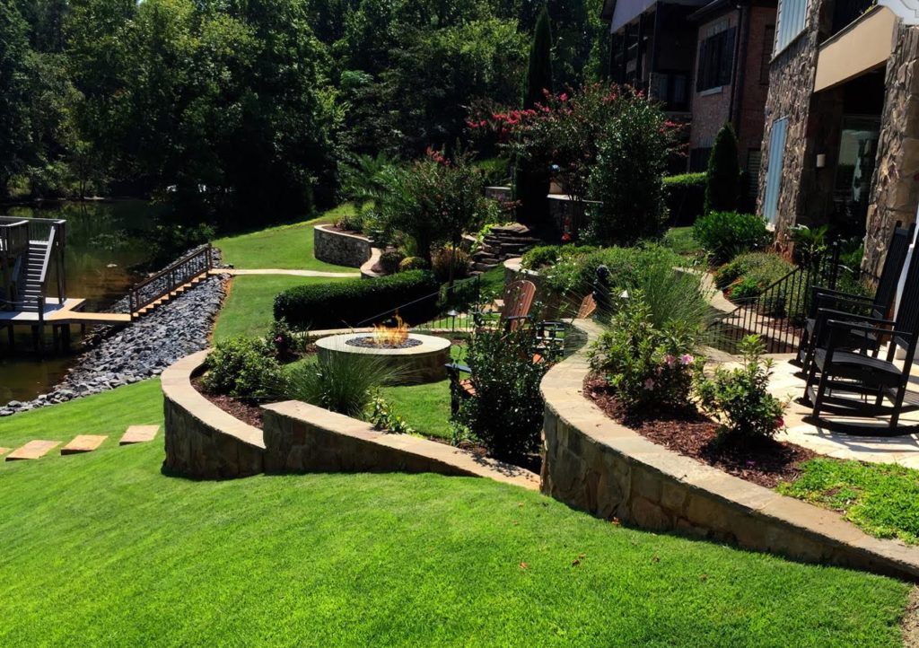Hardscape Ideas for Large Backyards | Coogans Design Build on Tiered Yard Ideas id=92902