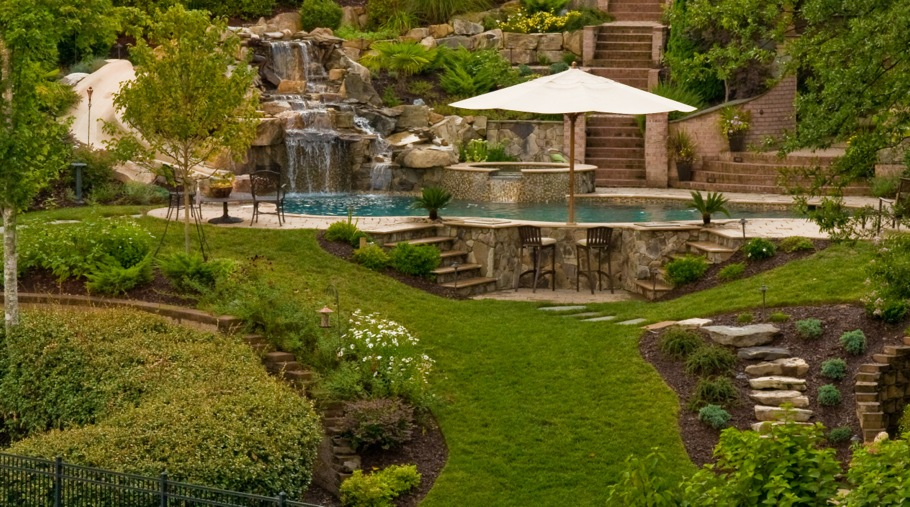 Inground Pool and Landscape Design