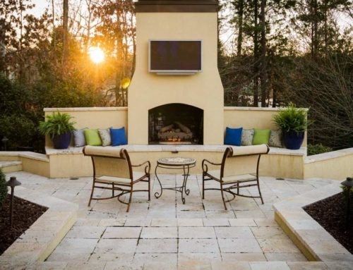 ADDING AN OUTDOOR FIREPLACE TO YOUR LANDSCAPE