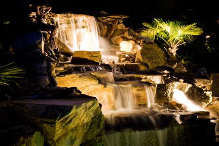 Landscaping Charlotte NC Lighting