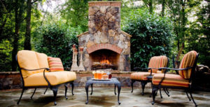 Charlotte Outdoor Fireplace