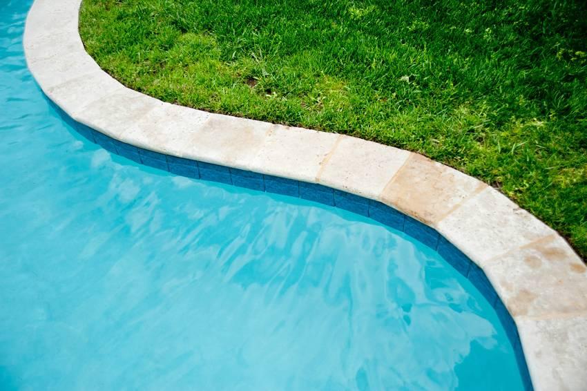 Inground Pool Grass Areas