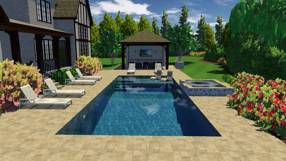 Landscaping Company 3D Rendering