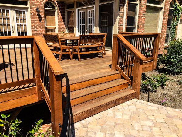 Wood Patio