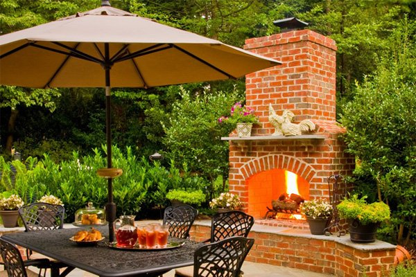 Fort Mill SC Outdoor Fireplaces
