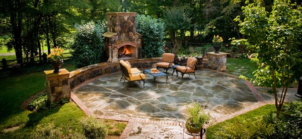 Natural Stone in Landscape Design